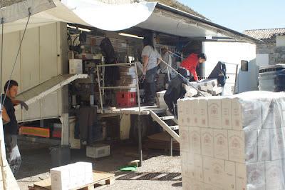 Butelkowanie wina w Prowansji