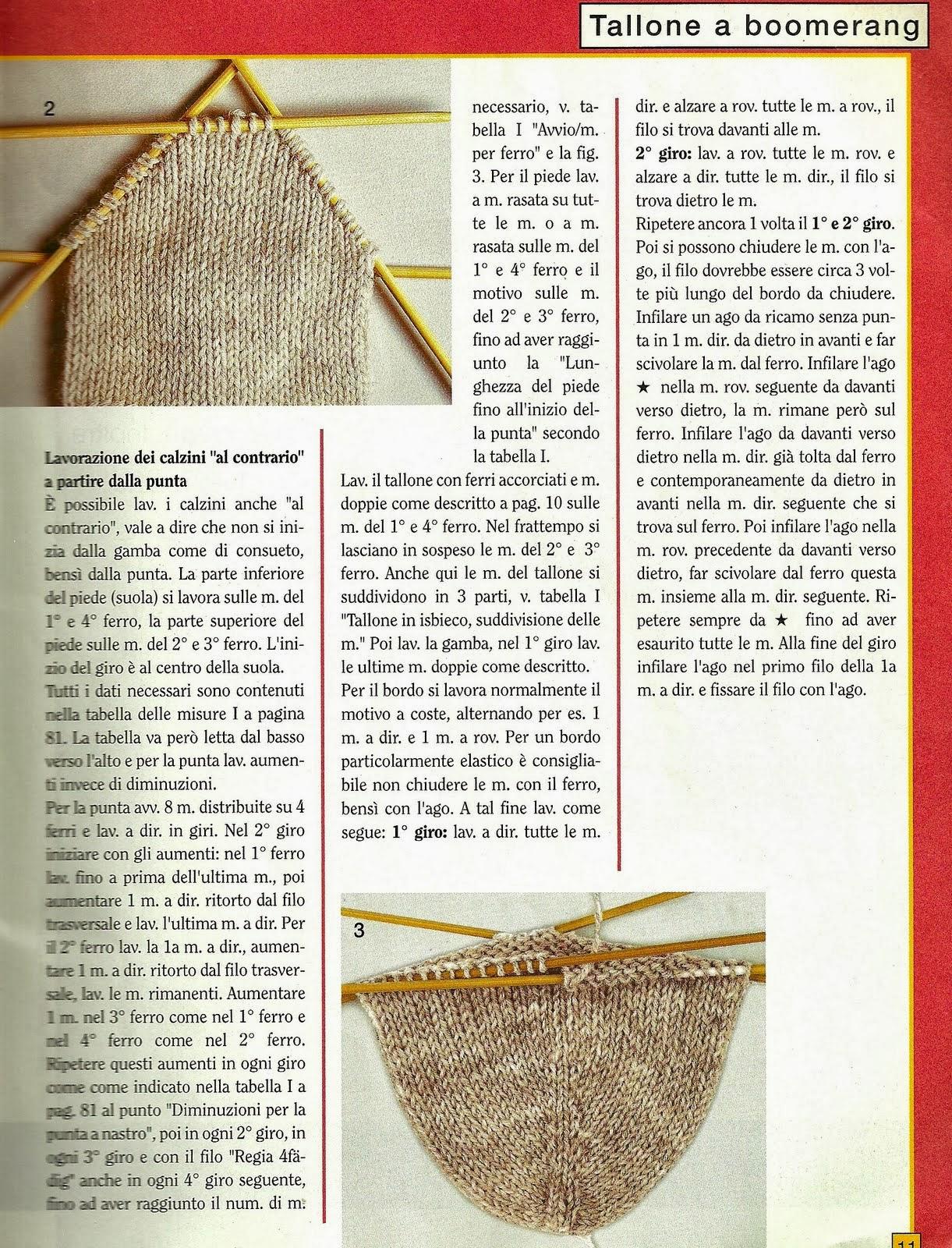 I Love Artigianato: Schemi a maglia