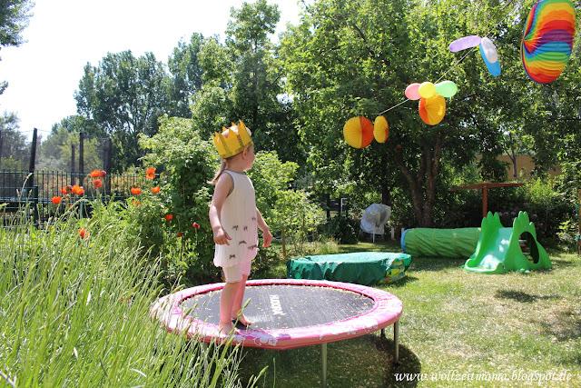 DIY : Krone für Kindergeburtstag oder Fasching selber basteln, mit Anleitung