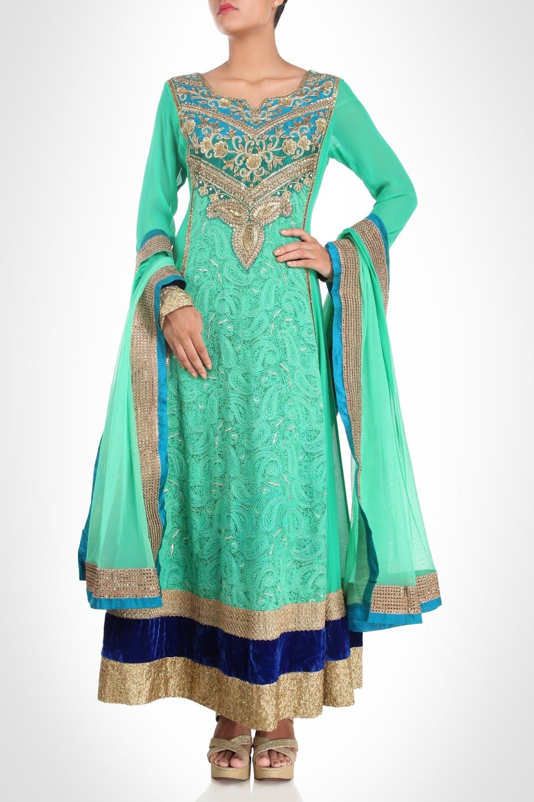 Designer Aneesh Agarwal Indian Bridal Dresses Photos collections ...
