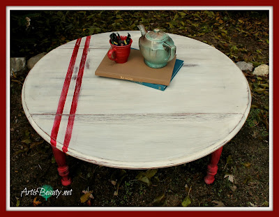 Grain-sack-inspired-Coffee-Table-Makeover-art-is-beauty-farmhouse