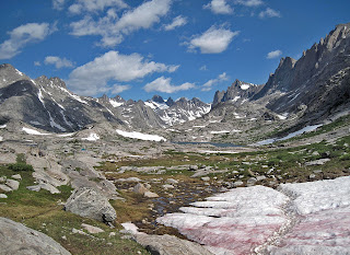 Wind River Range Wyoming, Titcomb Basin