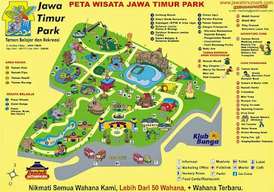 Peta Wisata Jawa Timur Park