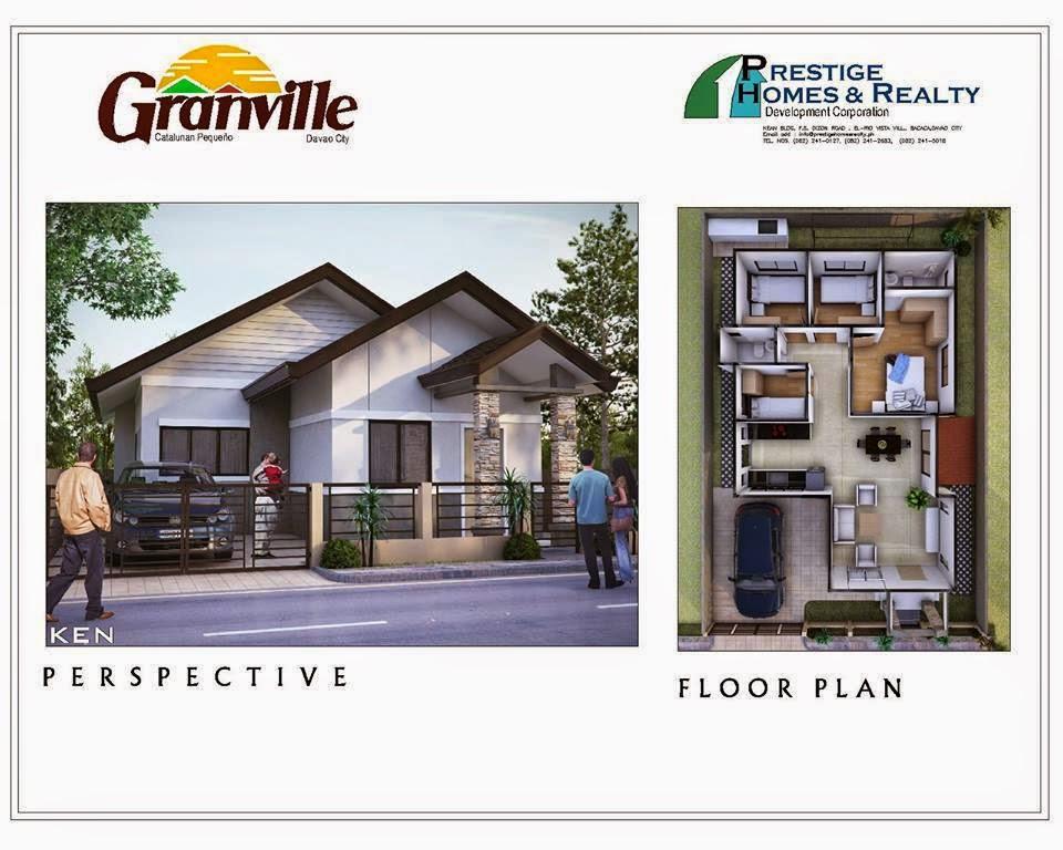 Ken House Model Granville Subdivisions Davao City