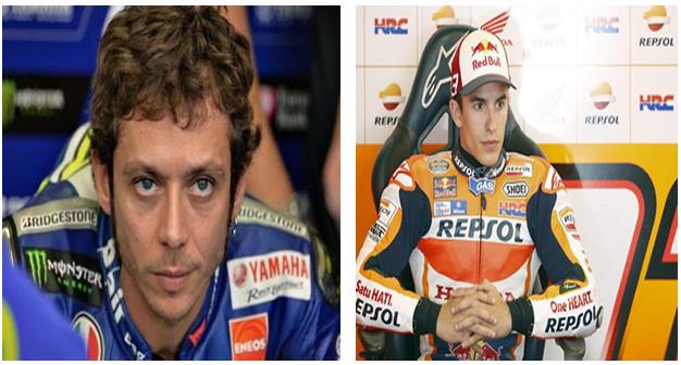 Rossi-Márquez: una pelea con muchos millones en juego