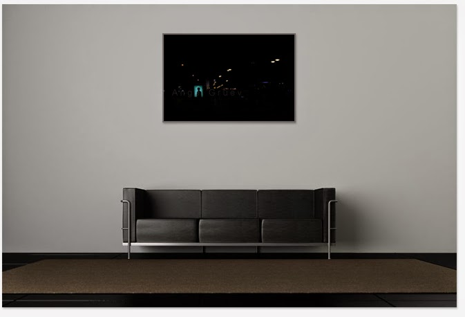 Interior decor with Art picture,Angel Gruev