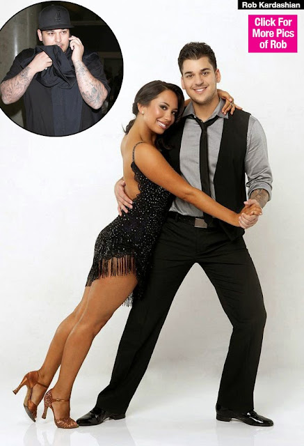 """Rob Kardashian Considering Joining """"DWTS"""" To Lose Weight — New Repo"""