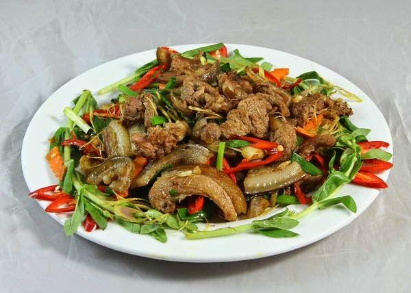 Bí quyết làm món Thịt dê xào lăn kiểu miền Bắc ngon