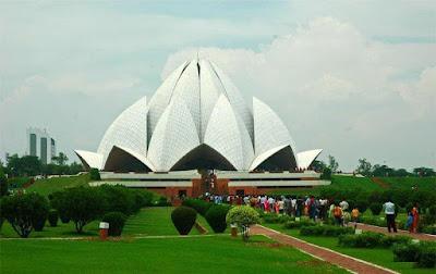 Delhi Lotus Temple Photos
