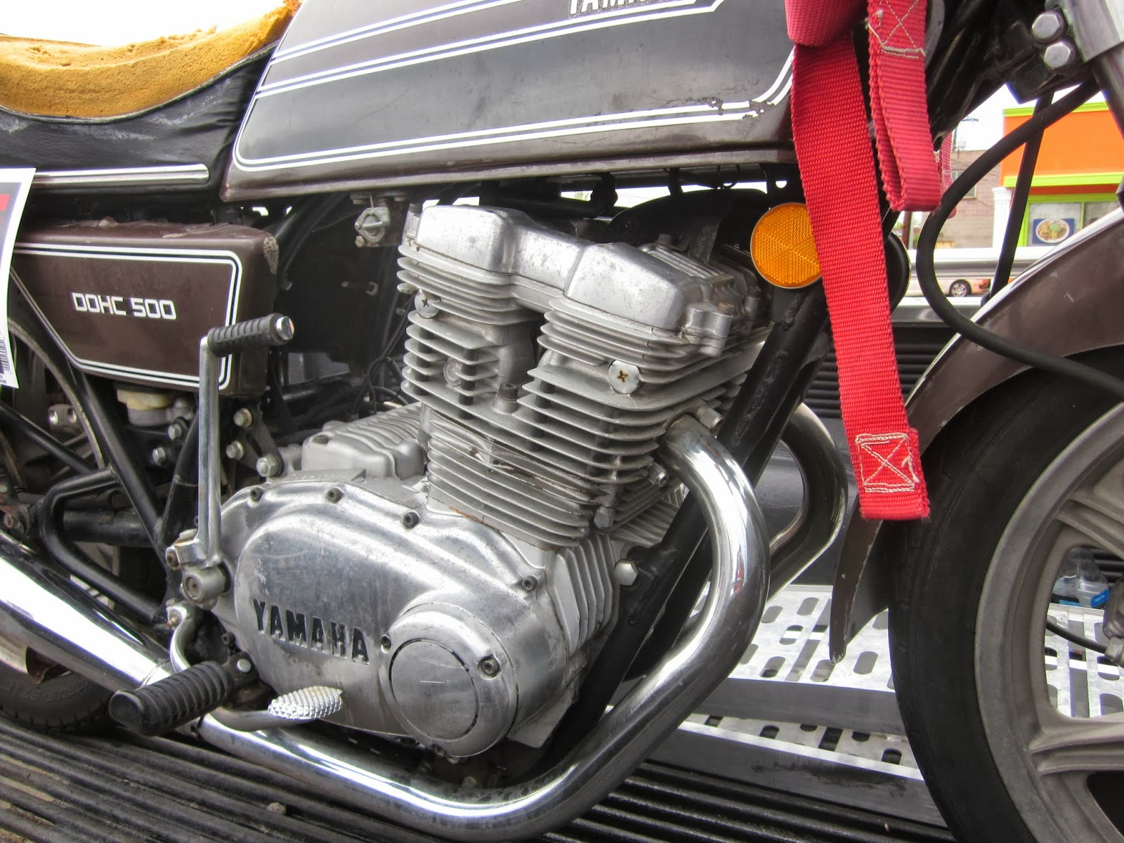 OldMotoDude  1976 Yamaha XS500 for sale at the 2013 Retro Riders
