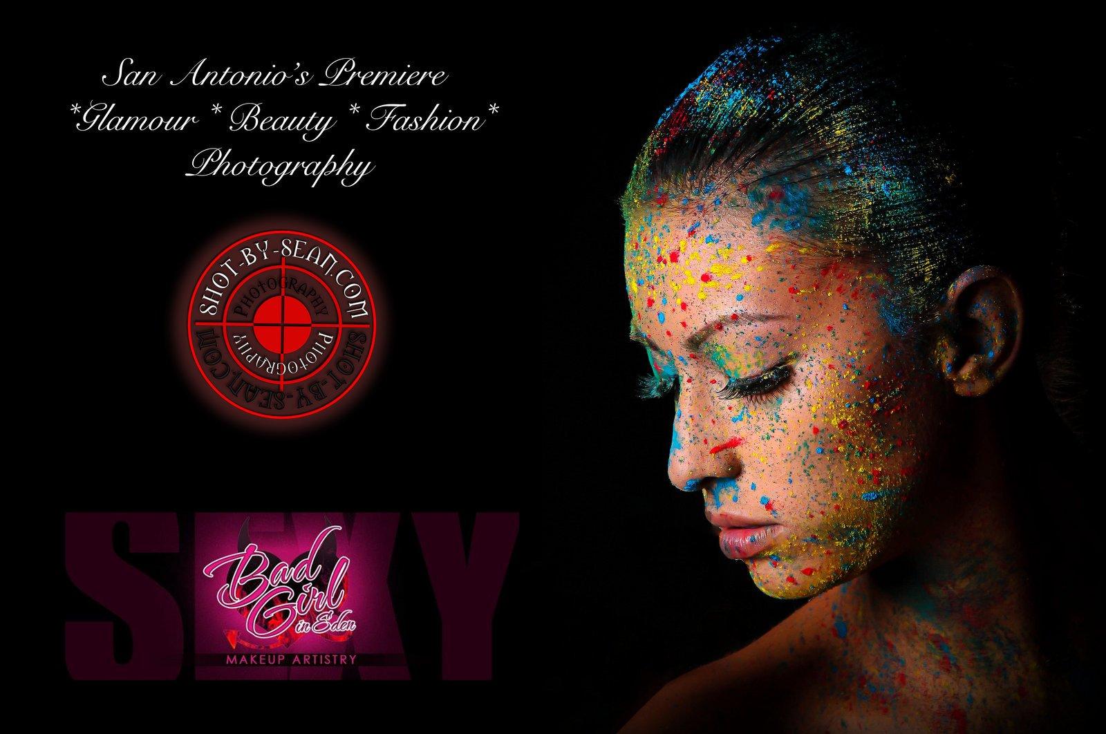 Saxy Golden Glitter Implied Nude Glamour Lighting ...