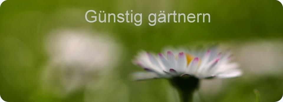 Günstig gärtnern