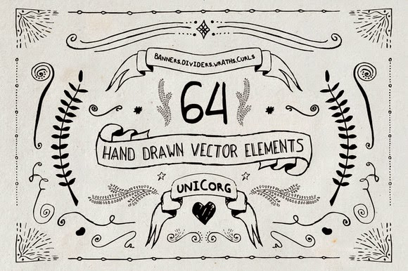 Hand Drawn Vector Elements Free Download