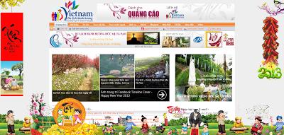 Trang tri tet cho blogger, blogspot
