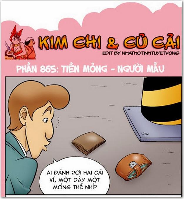 Kim Chi và Củ Cải phần 865 - Tiền Mỏng - Người Mẫu. Đọc Full truyện tranh 18+ Kim chi và củ cải mới nhất