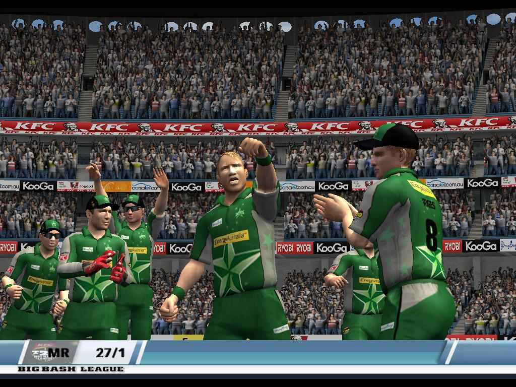 KFC Big Bash League 2016-17 Patches and games