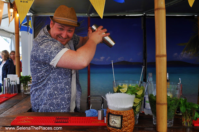 Bartender at Taste of London