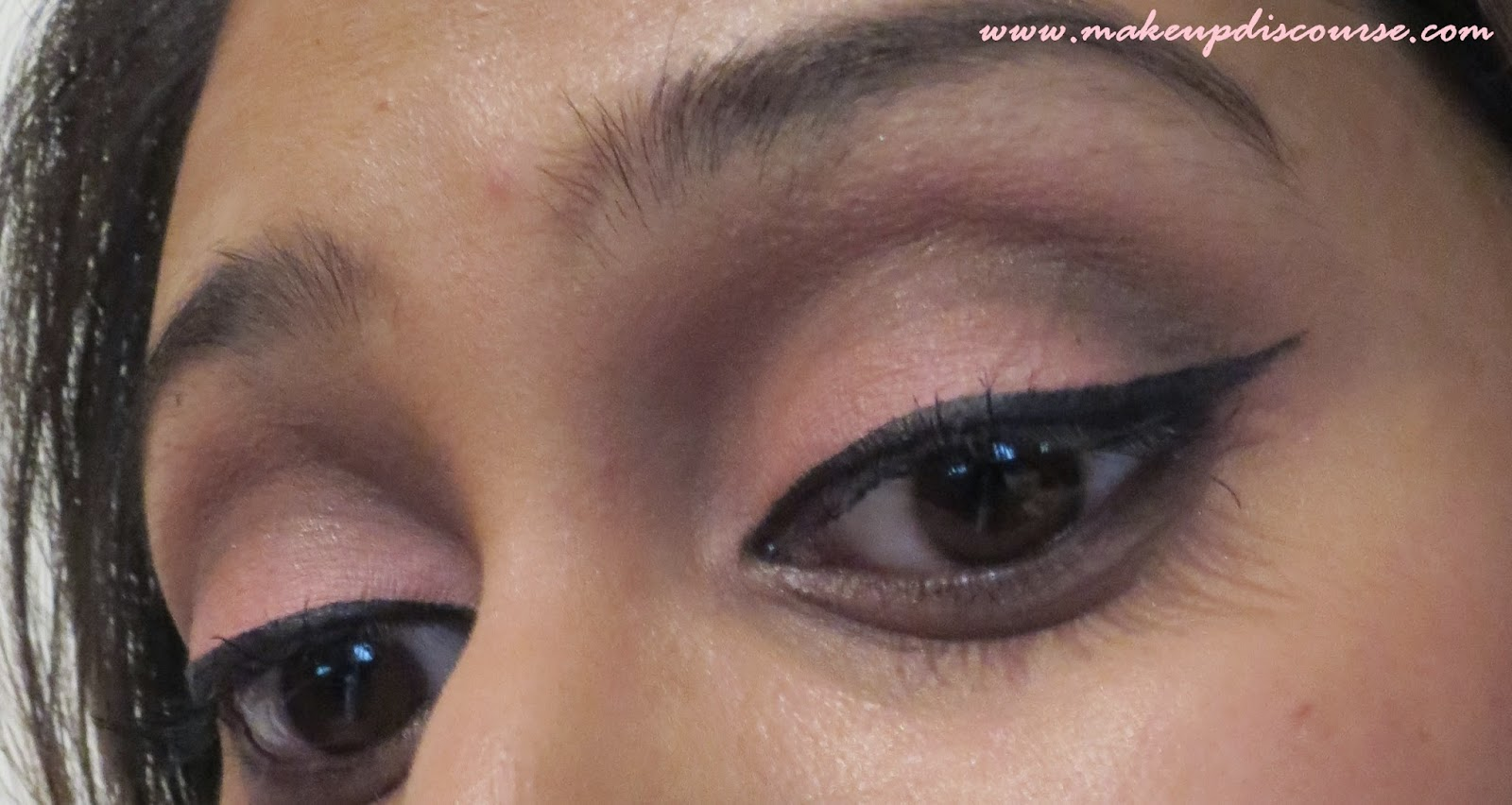 Spring Inspired: Pastel Coral Pink and Brown Eyemakeup