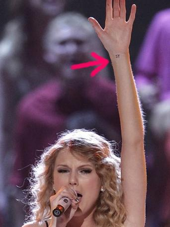 Taylor Swift S Tattoo