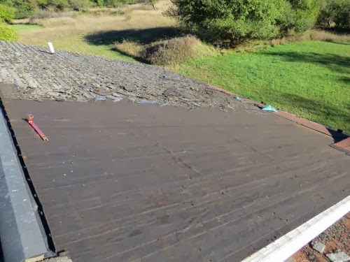 cleared roof