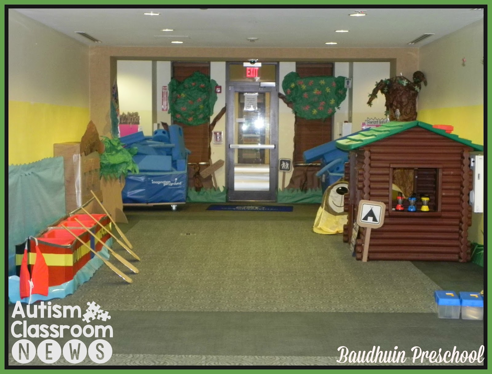 Classroom Theme For Preschool ~ Autism classroom news a camping theme for esy from the