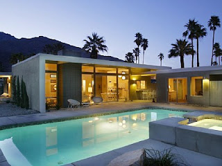 The Alexander home is located in prestigious Twin Palms Estates in the south end of Palm Springs.