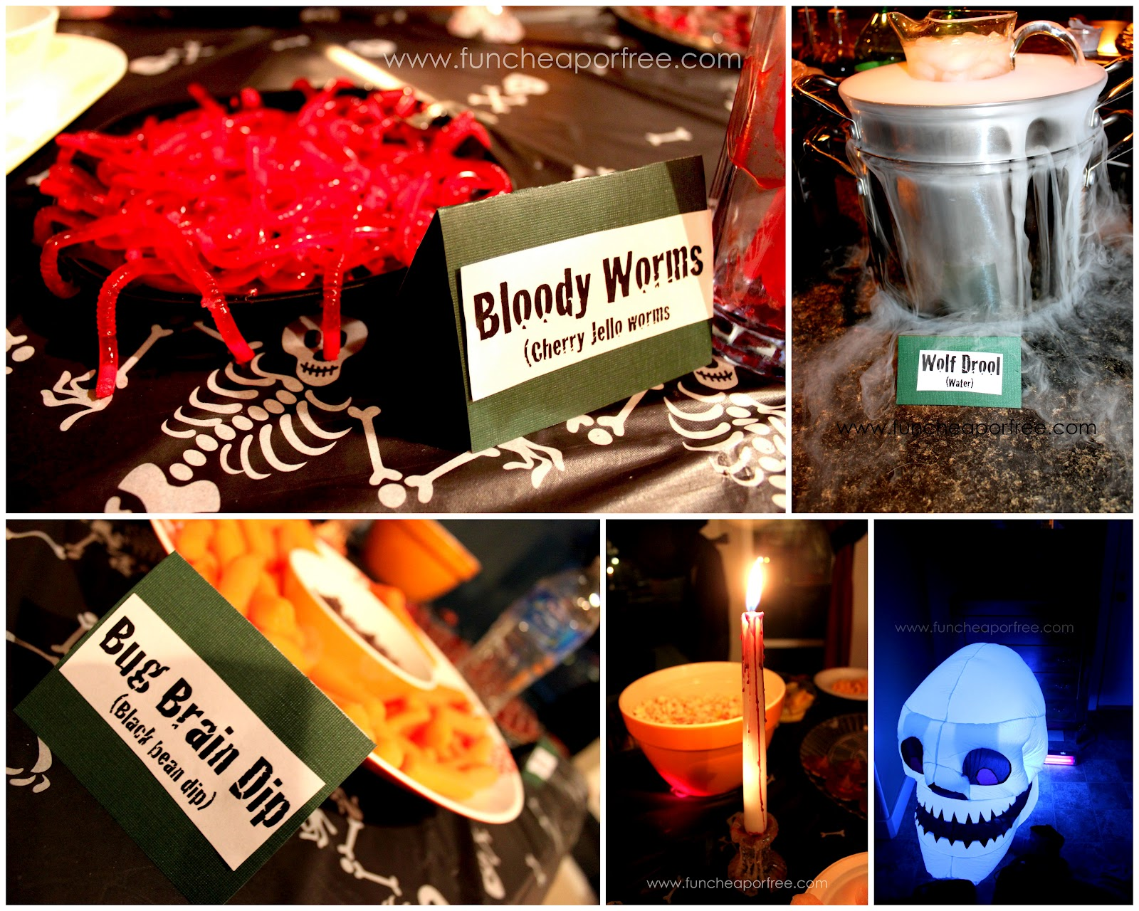 Tons of fun, cheap, or free Halloween party ideas! Countdown to ...