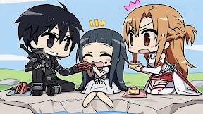 Sword Art Online Yui Kirito