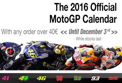 Sekarang Kamu Bisa Dapat Kalender MotoGP 2016 Gratis di MotoGP Store