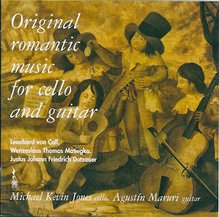 Original Romantic Music for Cello and Guitar