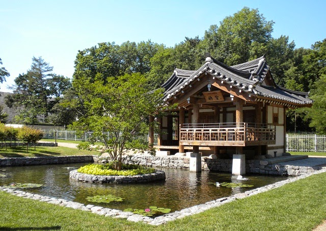 Korean Landscape Garden : Korean style garden the key of design is