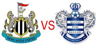 Prediksi Skor Newcastle United vs Queens Park Rangers 22 Desember 2012
