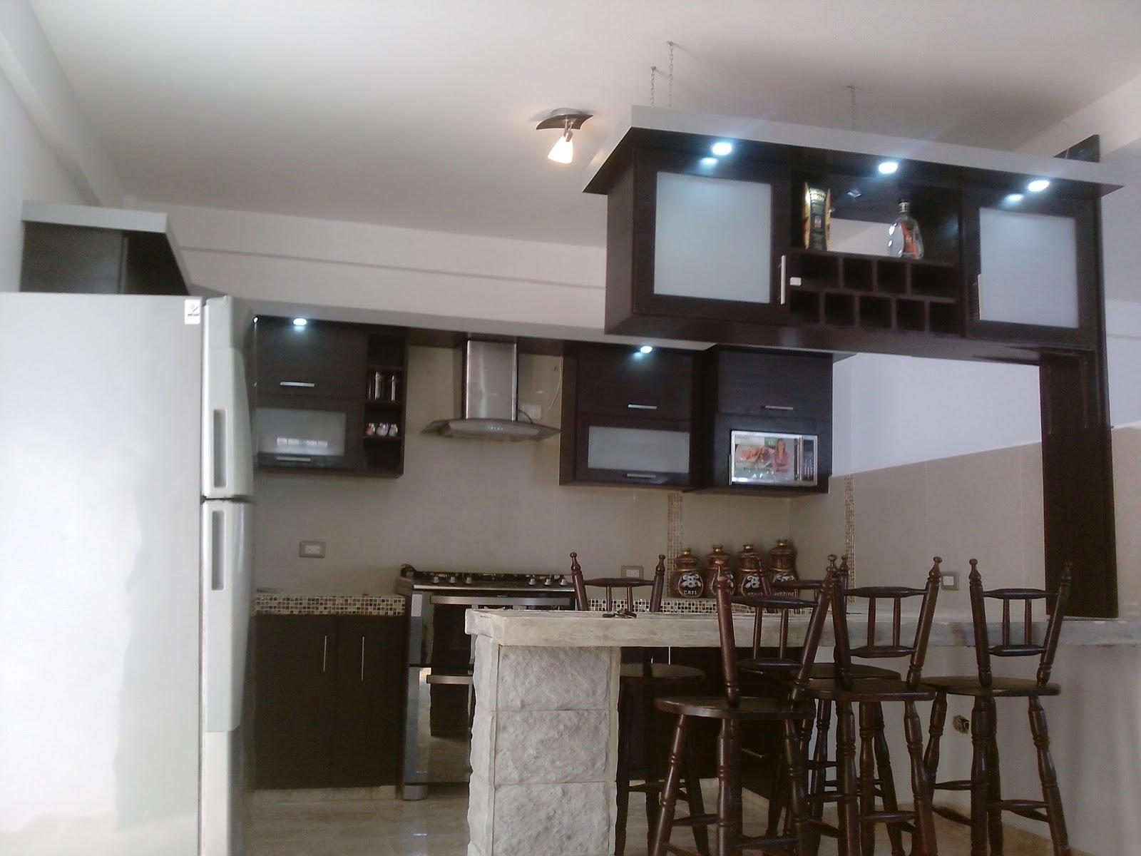 Cocinas terranova c a for Bar para cocina