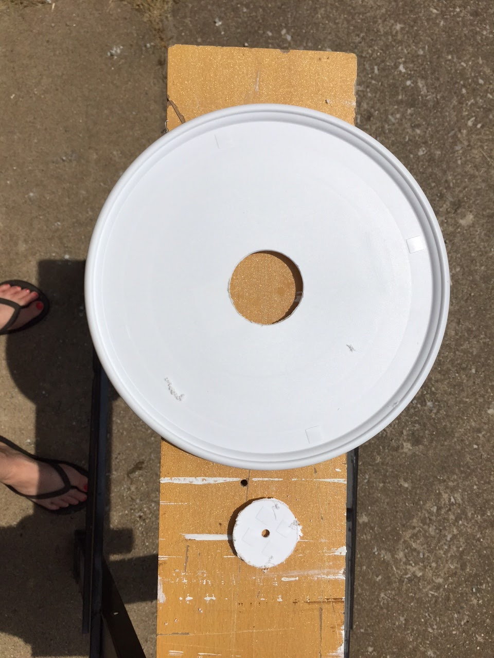 Over On Dover Diy Patio Lazy Susan