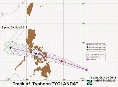 Yolanda PH Haiyan Super typhoon in the Philippines