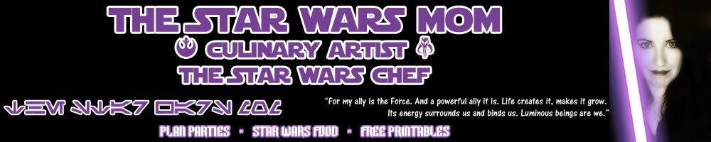 The Star Wars Mom - Culinary Artist - The Star Wars Chef