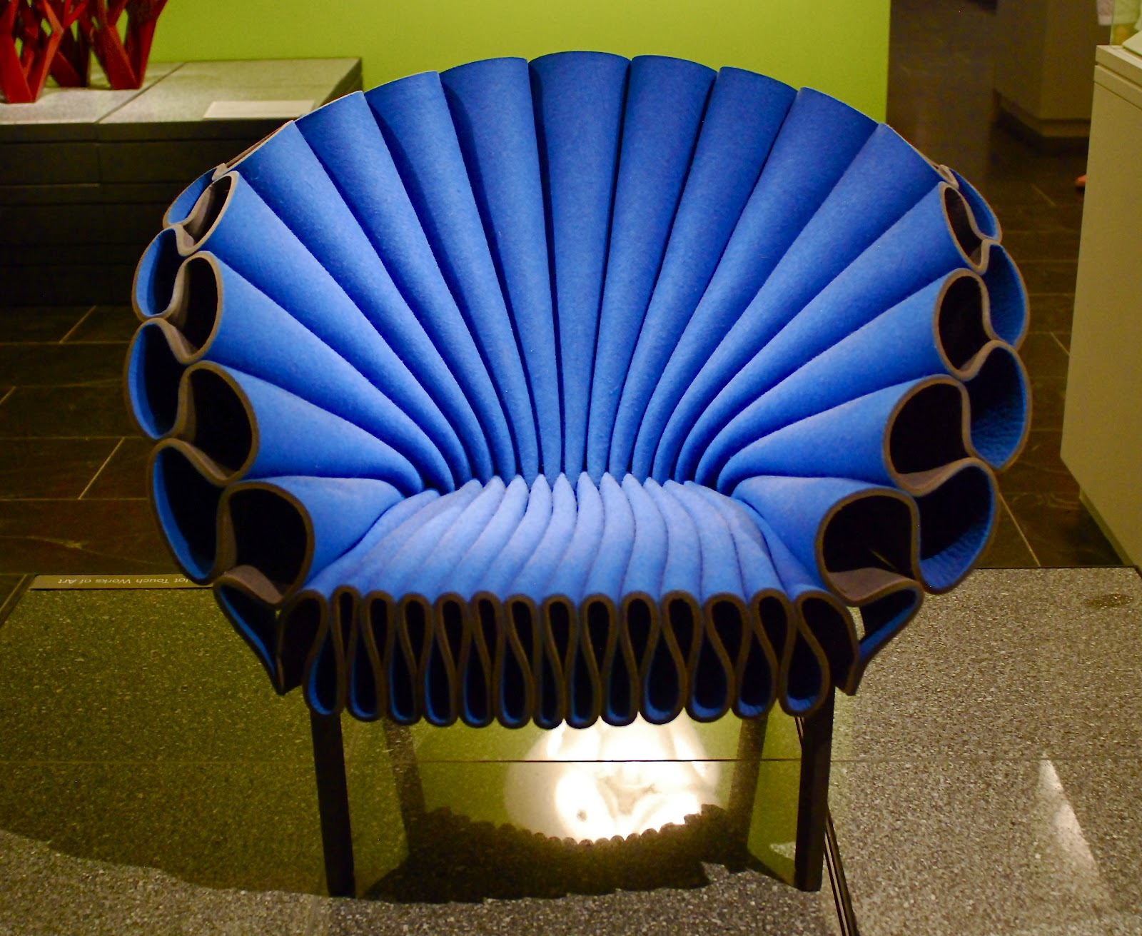 """NYC ♥ NYC Peacock Chair and the """"Carlton"""" Room Divider from"""
