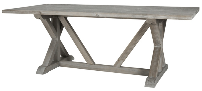 The Cartwright II Trestle Table Is EXACTLY What I Want Its Smaller Than Original Weathered Rustic And Perfect Unfortunately Were Not In