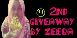 2ND GIVEAWAY BY ZEEQA