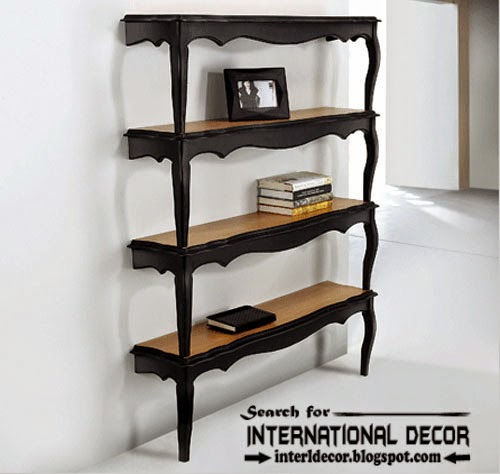 Italian wall shelves, unique bookshelf,luxury wall shelves and bookshelf