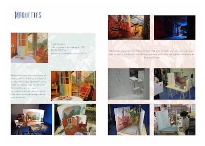 Thotony anthony caravaca maquettes de décors totony EMCA book promo 13 2011 2012