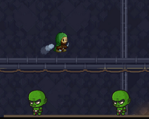 Adventure Game of the Week - Green Hunter