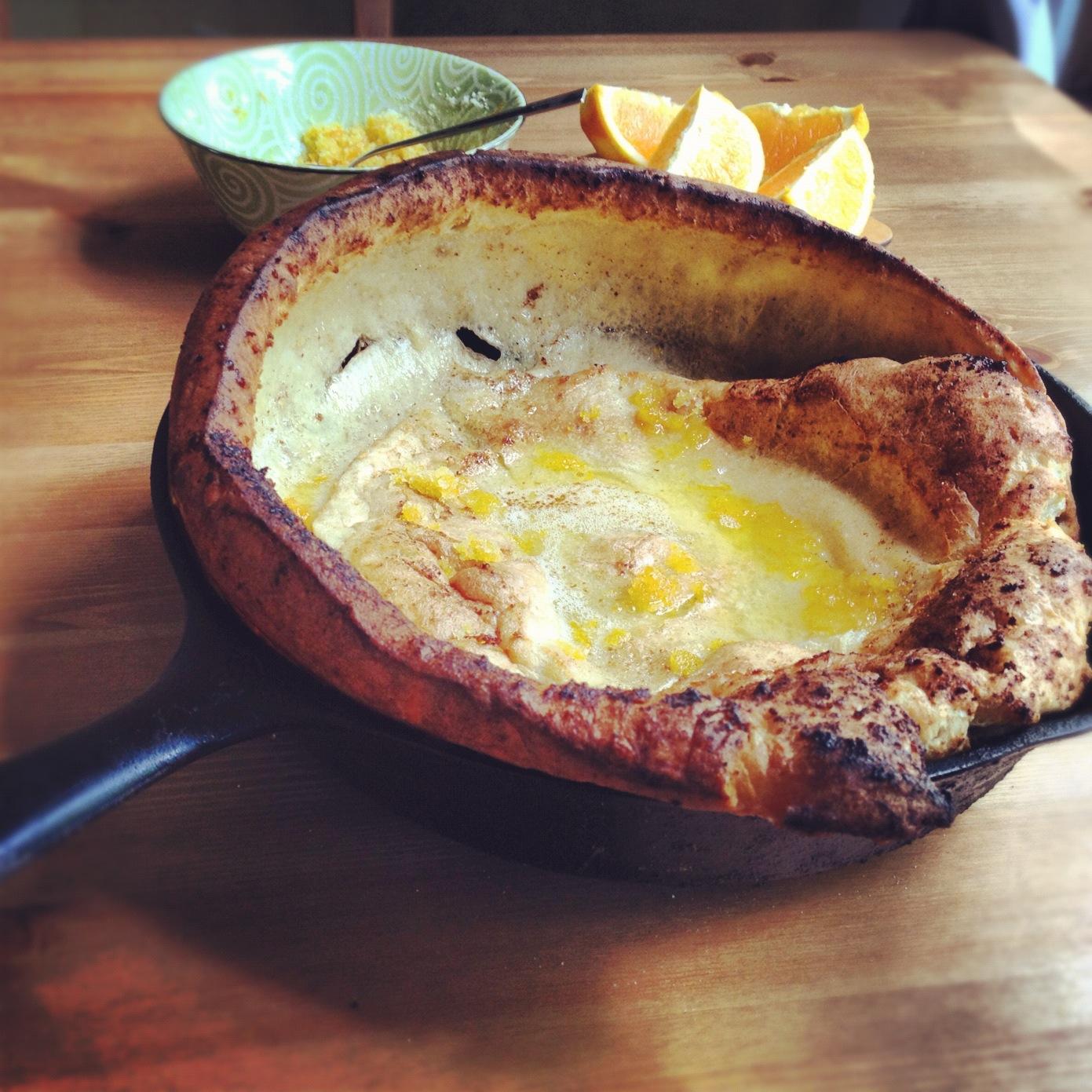 ... Food Blog in Portland, Oregon: Dutch Baby Pancakes with Orange Sugar