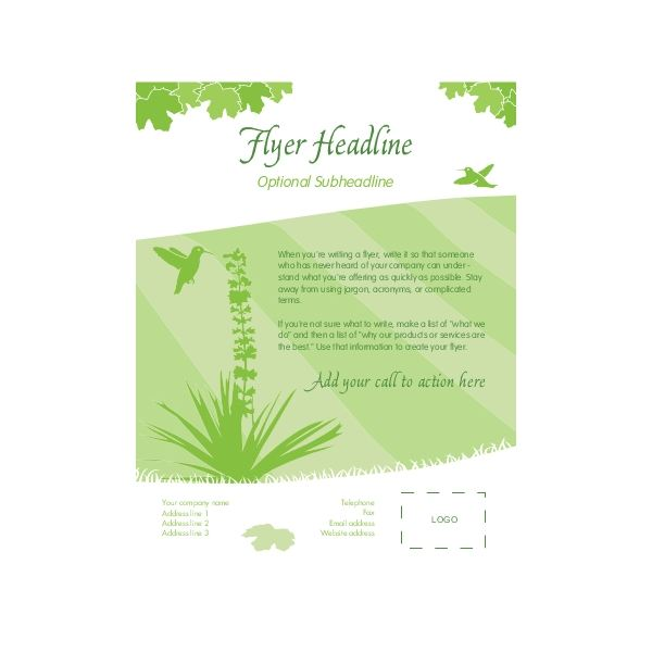 Blank brochure template free brochure designs pics for Online flyer templates
