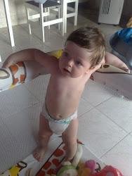 Samuel com onze meses
