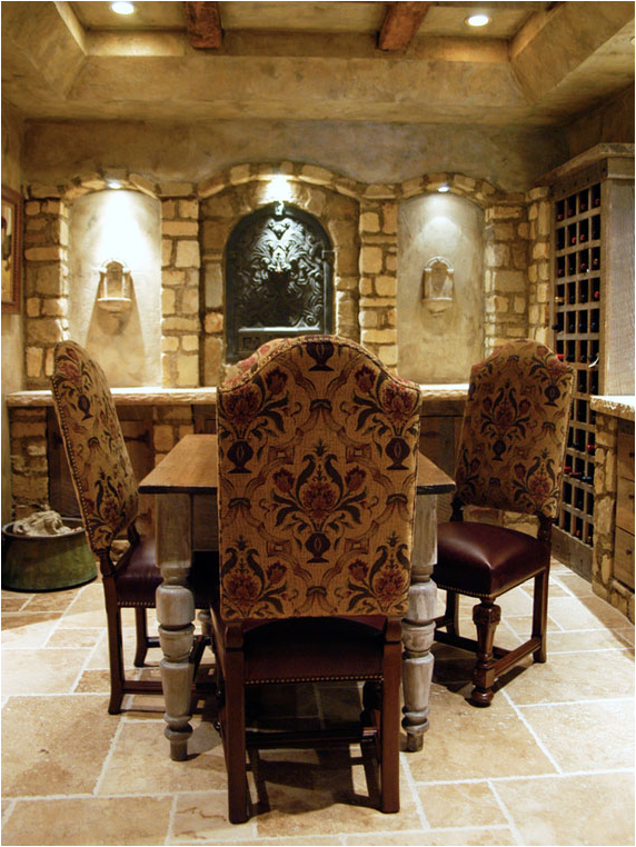 Tuscan dining room design ideas room design inspirations for Italian dining room decorating ideas