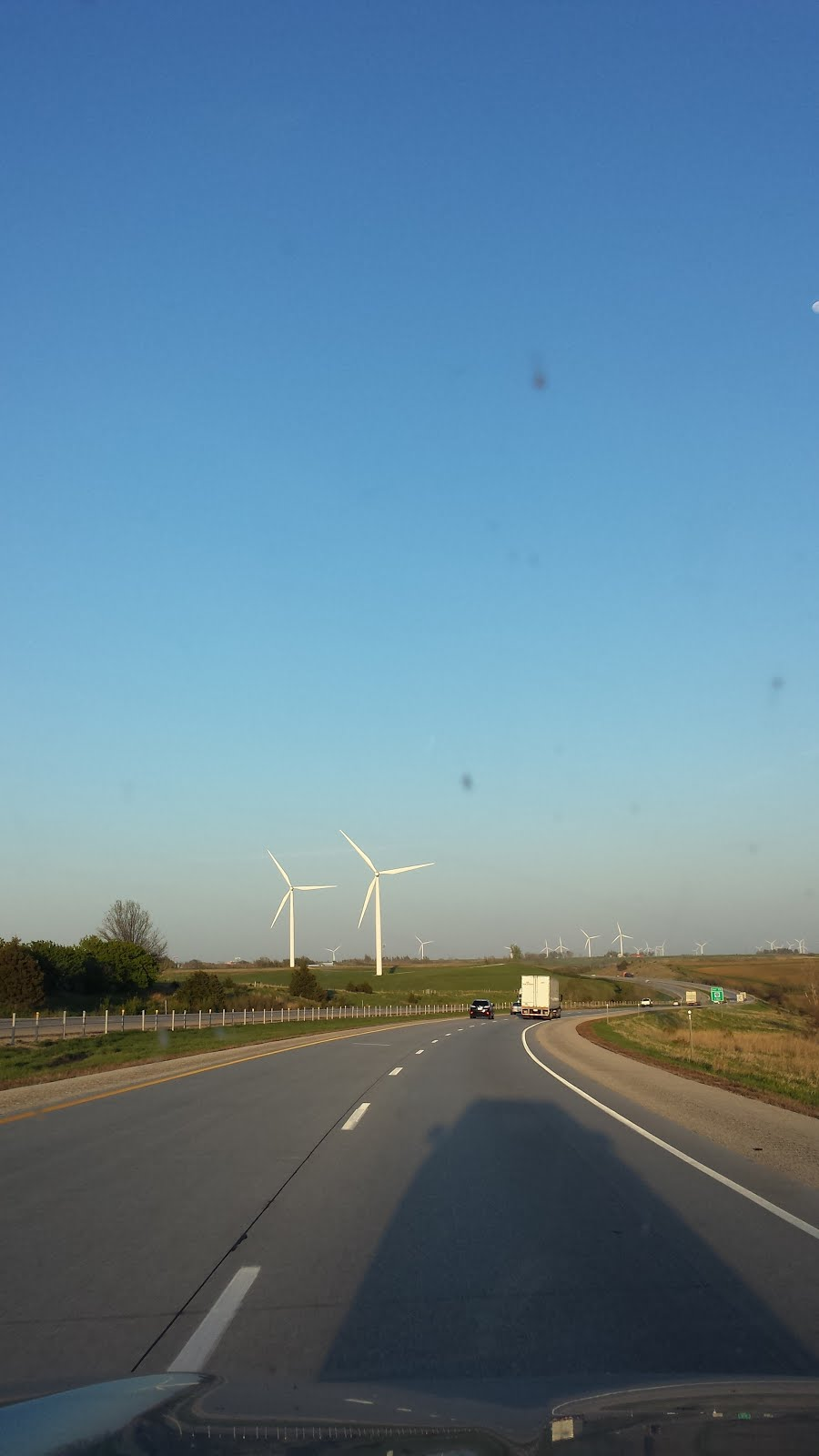 Iowa wind farm