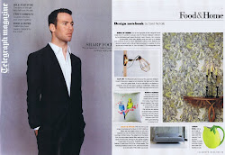 As featured in THE DAILY TELEGRAPH MAGAZINE
