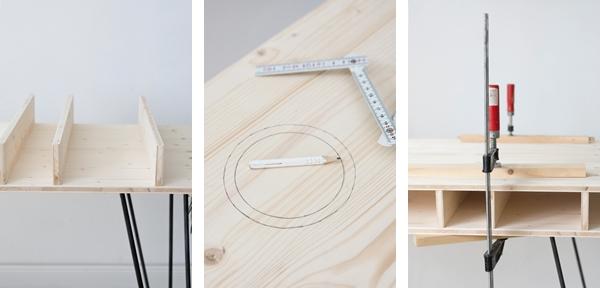 ein schreibtisch zum selberbauen | sinnenrausch - diy und interior, Innenarchitektur ideen