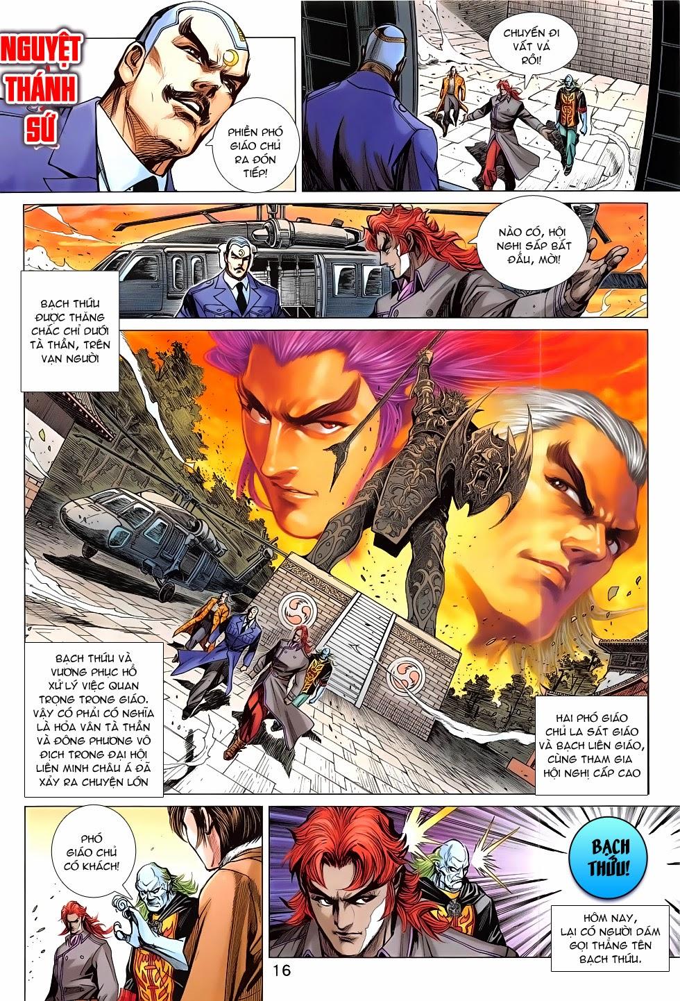 Tân Tác Long Hổ Môn chap 783 Trang 16 - Mangak.info